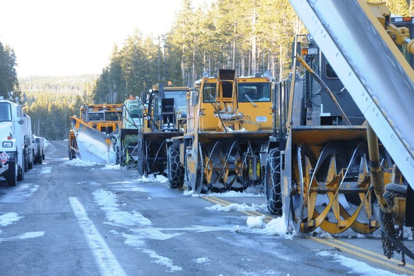 Yellowstone Park Road Plowing Equipment