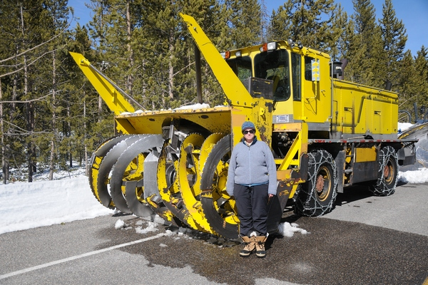 Yellowstone Park Road Clearing Snowblowers